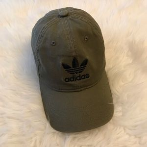 Adidas Women's Olive Fitted Cap